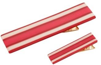 Zimmermann Hair Clip Pack Stripe
