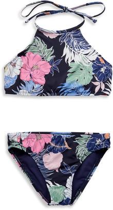 Hobie Hawaiian Two-Piece Swimsuit