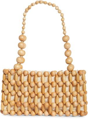 Cult Gaia Cora Beaded Shoulder Bag