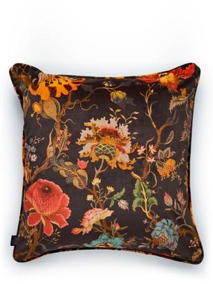 House Of Hackney Artemis Floral Velveteen Accent Pillow