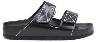 Birkenstock X Proenza Schouler - Arizona Leather Slides - Black