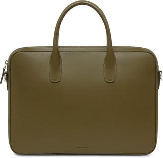 Mansur Gavriel Calf Small Briefcase - Olive