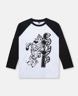 Stella Mccartney Kids Sup Leopard Cotton T-Shirt, Men's
