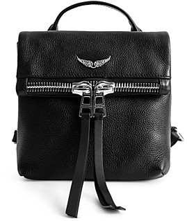 Zadig & Voltaire Romy Leather Backpack