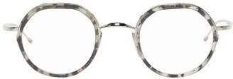 Thom Browne Tortoiseshell and Silver TB-911 Glasses