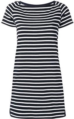 Sacai nautical striped shift dress