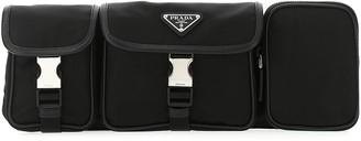 Prada Logo Plaque Utility Belt Bag