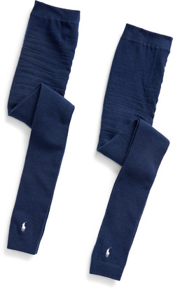Ralph Lauren Footless Tights 2-Pack
