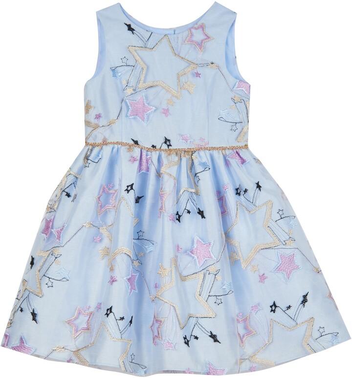 Pippa & Julie Star Embroidered Dress