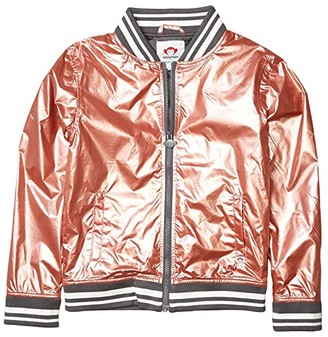 Appaman Kids Nikki Bomber Jacket (Toddler/Little Kids/Big Kids) (Rose Gold) Girl's Clothing