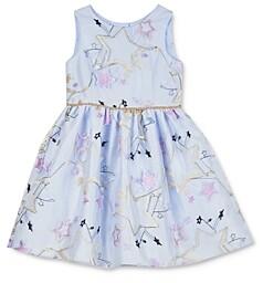 Pippa & Julie Girls' Star Embroidered Dress - Little Kid