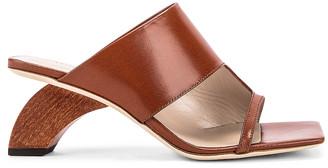 REJINA PYO Leah 60 Sandal in Brown   FWRD