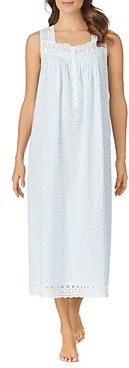 Eileen West Sleeveless Lace Nightgown