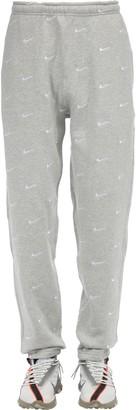 Nike Nrg Swoosh Logo Cotton Blend Pants