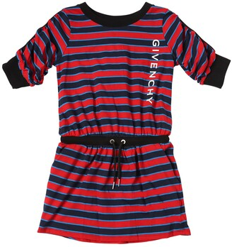Givenchy Striped Cotton Jersey Dress