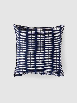 A.N.A Graymarket Design Navy Cotton Pillow Cover