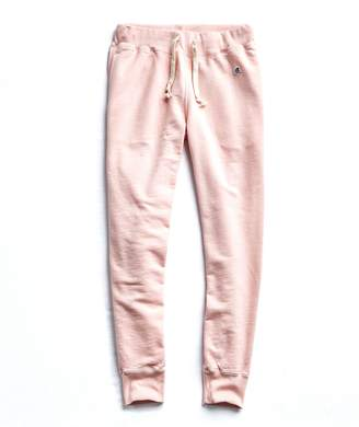 Todd Snyder + Champion Terry Slim Jogger Sweatpant in Peony