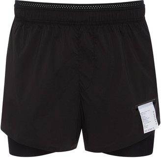 Satisfy Long Distance Shell Running Shorts