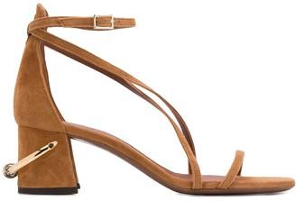 L'Autre Chose Ring Heel Sandals