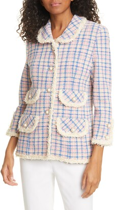 Marc Jacobs The The Found Suit Tweed Jacket