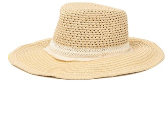 Eric Javits Saint Tropez Squishee(R) Straw Hat