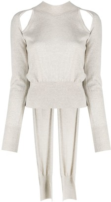 REJINA PYO Cutout Sweater