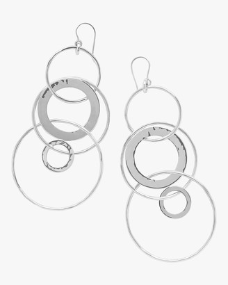 Ippolita Classico Mixed Large Links Jet Set Earrings