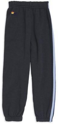 Aviator Nation Little Kid's & Kid's Five-Stripe Sweatpants