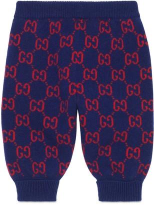 Gucci Baby GG wool pant