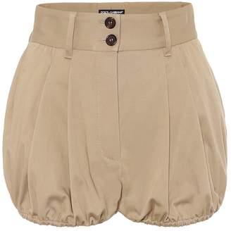 Dolce & Gabbana Stretch-cotton twill shorts