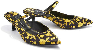Alice + Olivia Marrgo Leather Heel