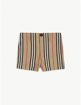 Burberry Striped cotton shorts 3-14 years