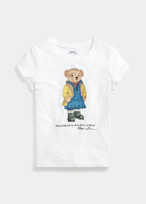 Ralph Lauren Raincoat Bear Jersey Tee