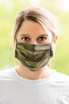 Z Supply Camo & Black Set of 2 Face Masks Camo 1 Size