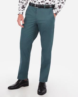 Express Classic Performance Stretch Cotton Dress Pant