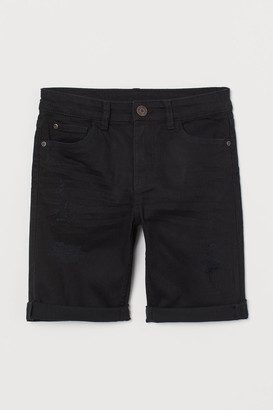 H&M Twill Shorts - Black
