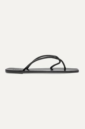 ATP ATELIER Alessano Leather Sandals - Black