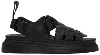Dr. Martens Black Temperley 8092 Sandals