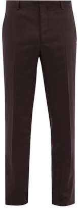 Joseph Jack Slim-fit Tailored Trousers - Burgundy