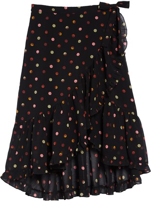 Scotch R'Belle Wrap Maxi Skirt