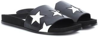 Stella McCartney Star faux leather slides