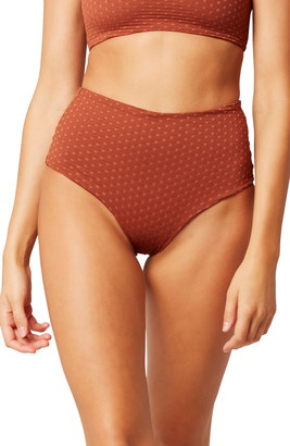 L-Space L Space Portia High Waist Swim Bottoms