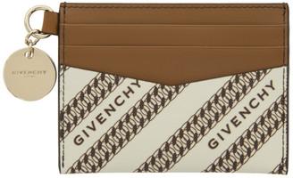 Givenchy Beige Bond Card Holder