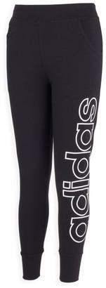 adidas Girl's Linear Logo Leggings