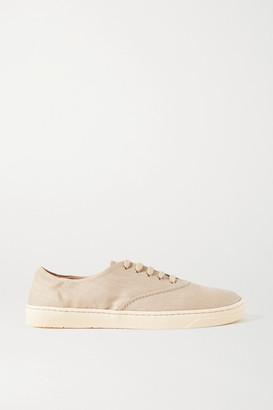 Gabriela Hearst Marcello Linen Sneakers - Tan