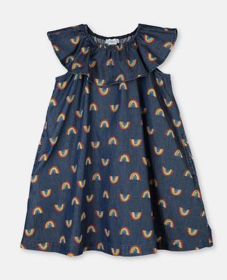 Stella Mccartney Kids Rainbow Chambray Dress, Women's