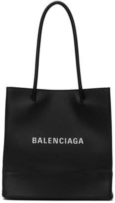 Balenciaga Black Shopping Tote Bag