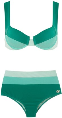 BRIGITTE High Waisted Bikini Set