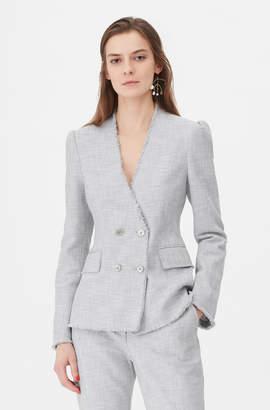 Rebecca Taylor Tailored Slub Suiting Jacket