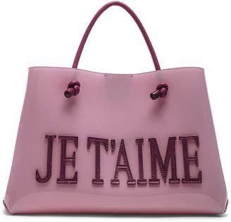 Alberta Ferretti Je Taime Small Tote in Pink | FWRD
